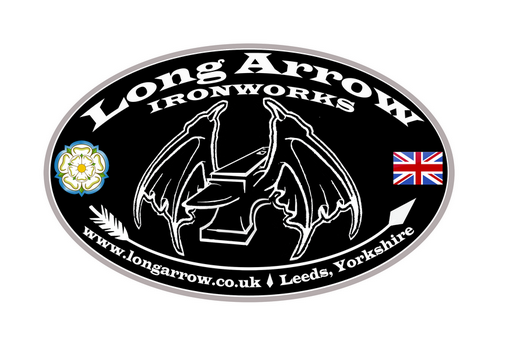 Long Arrow Ironworks Leeds Black Logo