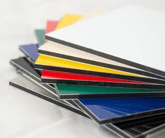 aluminium composite colour options