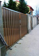 Stainless Steel Modern Gate