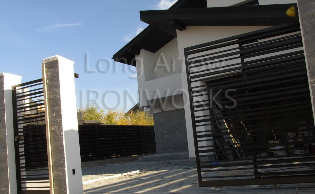 telescopic domestic gate